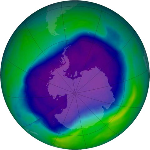 Ozone layer is healing